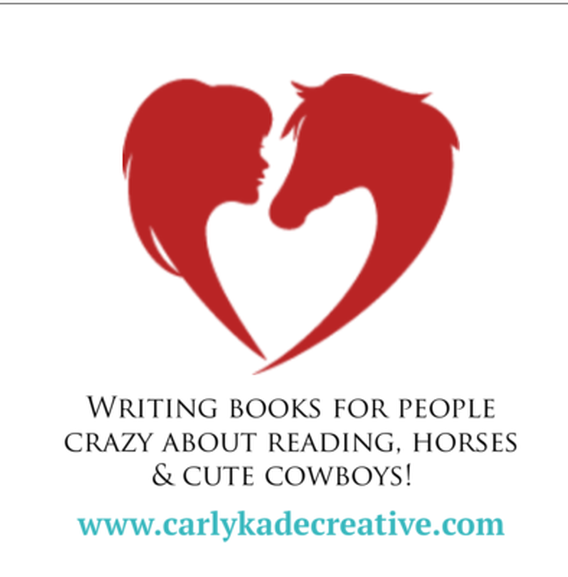 Author Carly Kade writes Horse Books
