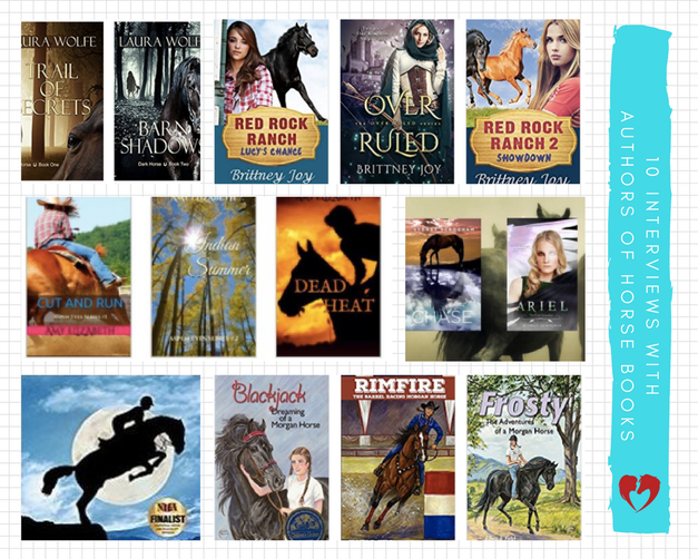 !0 Interviews with Authors of Equestrian Fiction & Horse Book Series