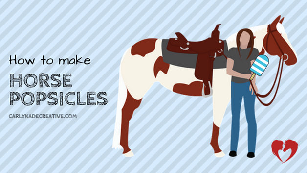 How to Make Horse Popsicles Video Tutorial