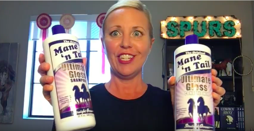 Carly Kade Reviews Mane 'n Tail Horse Grooming Product