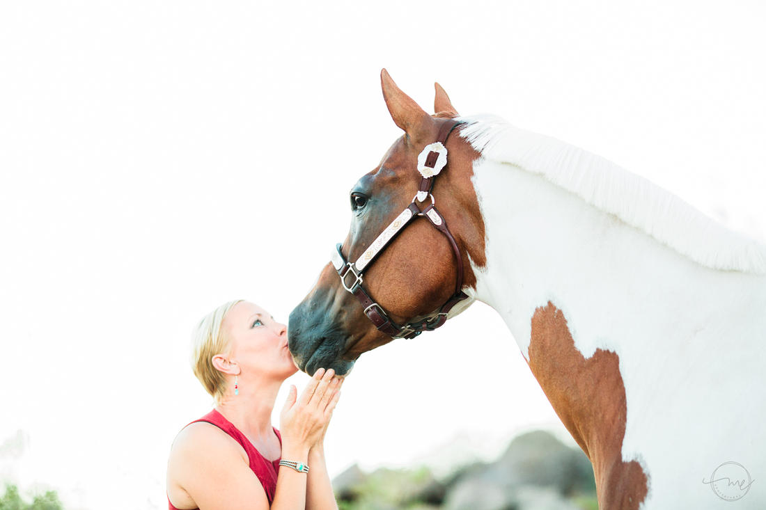 Horse Book Author Carly Kade Poses for Melanie Elise Equine Photography