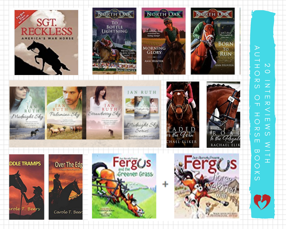 Equestrian Author Spotlight Interviews by Carly Kade Creative