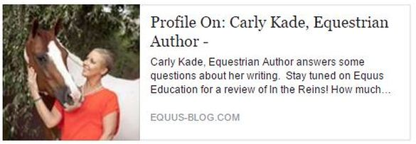 Author Carly Kade