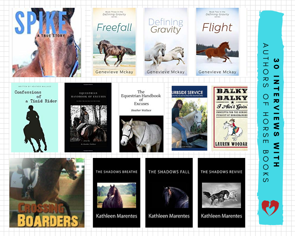 Interviews with Authors of Horse Books by Carly Kade Creative