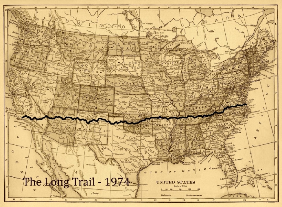 Author John Egenes & his Horse Gizmo followed this trail in his memoir Man & Horse: The Long Ride Across America