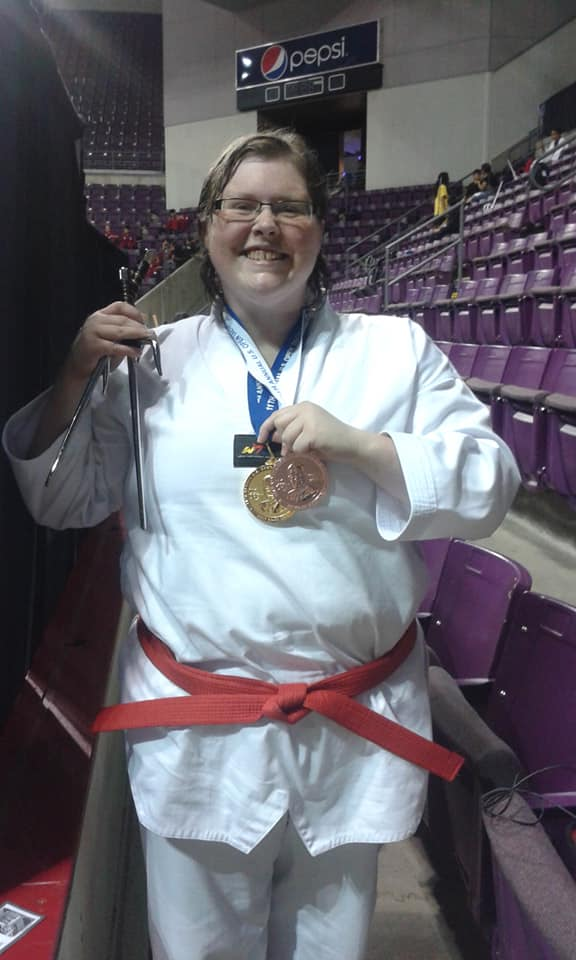 Author Ann Hunter Taekwondo