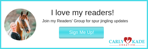 Sign up for Carly Kade Creative's Readers' Group
