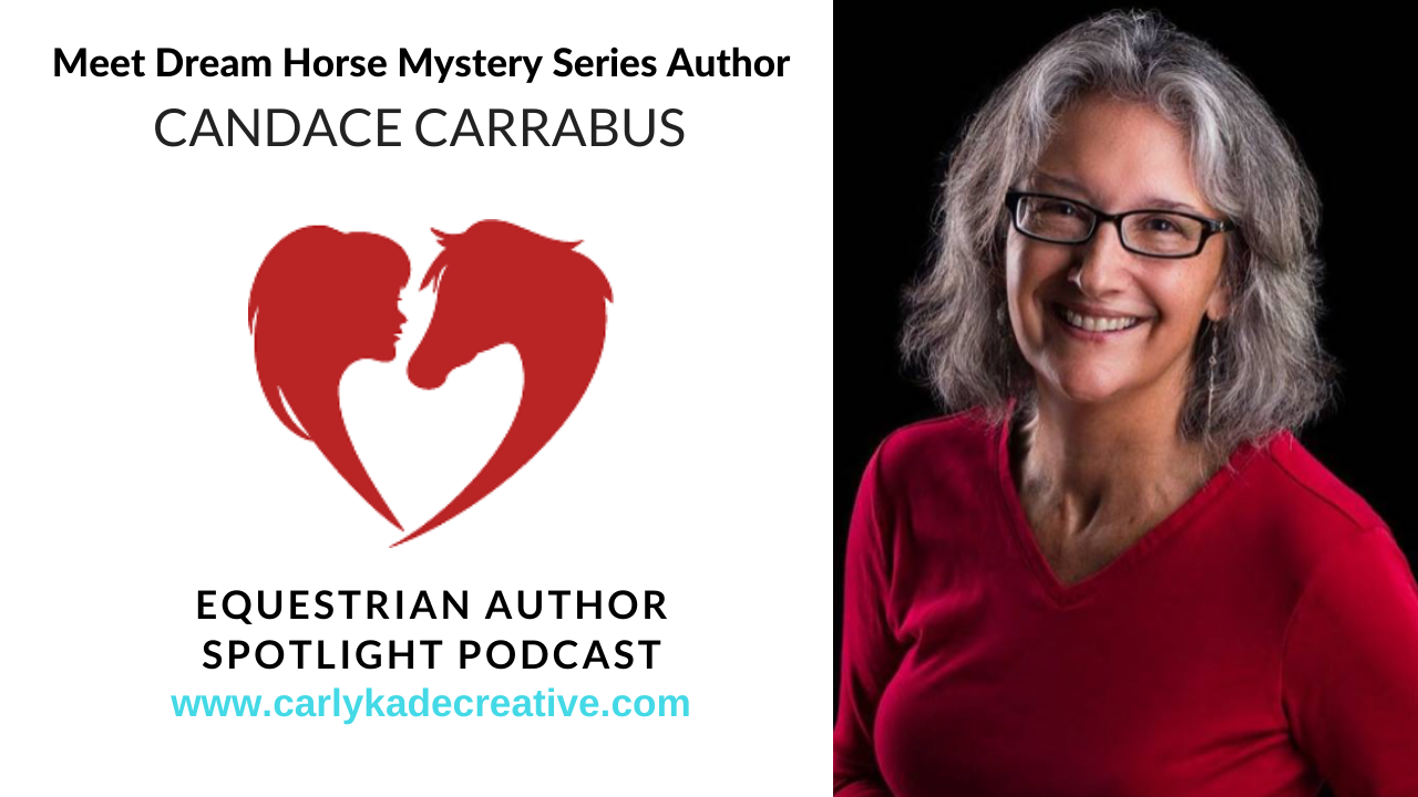 Author Candace Carrabus Podcast Interview with Carly Kade Creative