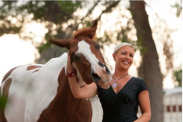 Author Carly Kade's Equine Photo Shoot Bloopers