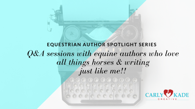 Equine Author Catherine Louise Birmingham Interviews with Carly Kade Creative