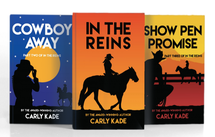 In the Reins Equestrian Romance Horse Book Series by Carly Kade