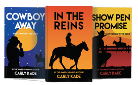 Equestrian Fiction Horse Book Series by Carly Kade