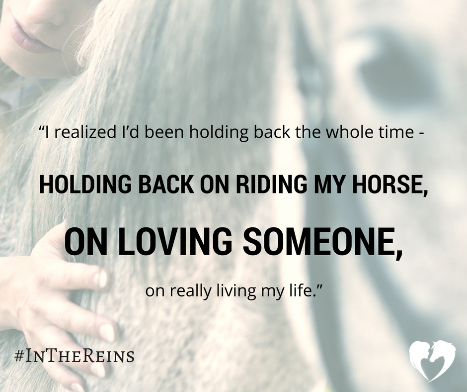 A Quote from Equestrian Romance Novel, In the Reins