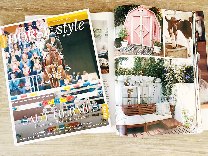 Raquel Lynn of Horses & Heels Feature in Horse & Style Magazine