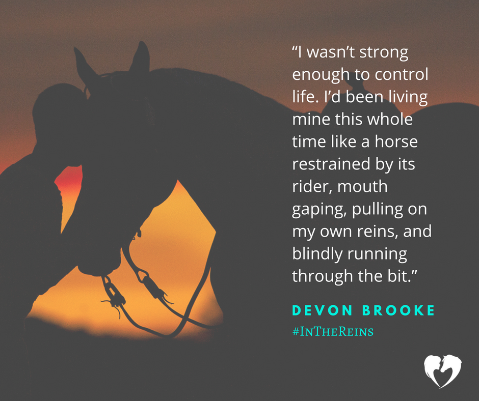 A Quote from Cowboy Romance Novel, In the Reins