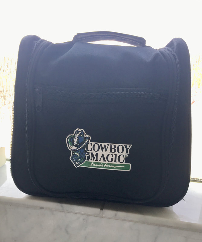 Cowboy Magic Travel Bag