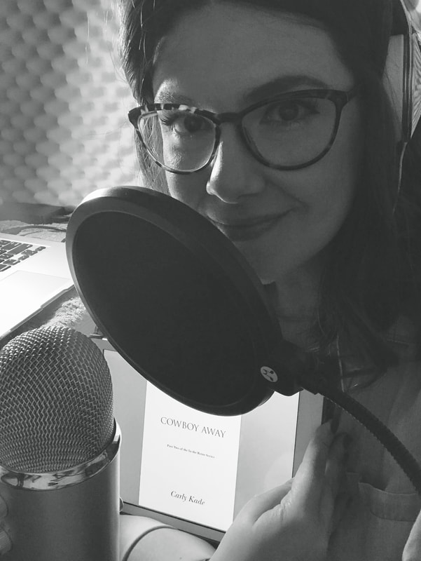 Amanda Lamb, the voice of the In the Reins series on Audiobook