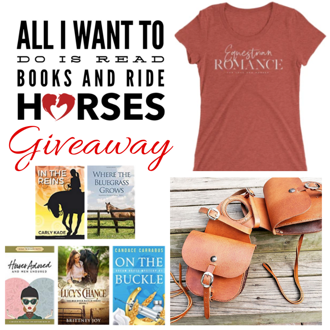 All I Want to Do is Read Books & Ride Horses Valentine's Day Giveaway Carly Kade