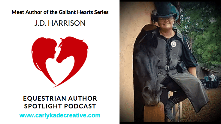J.D. Harrison of the Gallant Hearts Book Series Podcast Interview with Carly Kade