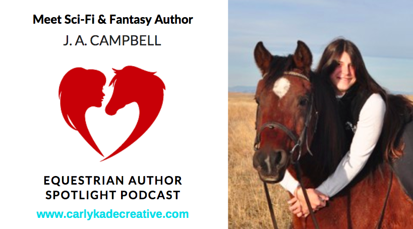 J. A. Campbell Equestrian Author Spotlight Podcast