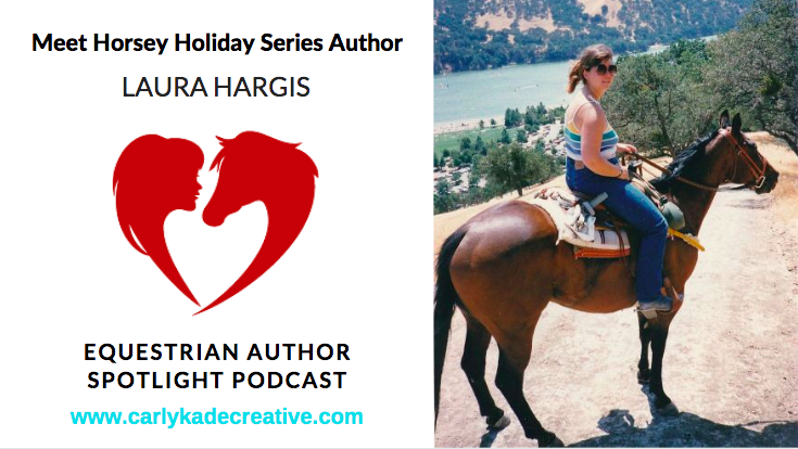 Horsey Holiday Book Series Author Laura Hargis