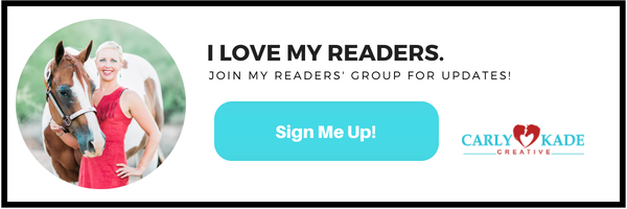 Author Carly Kade's Readers' Group Sign Up