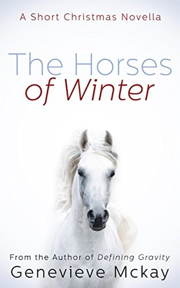 Winter Horses Holiday Horse Book by Genevieve Mckay