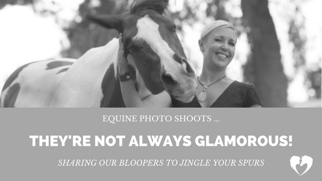 Equine Photo Shoot Bloopers