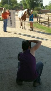 Author Carly Kade Equine Photo Shoot with Melanie Elise Photography