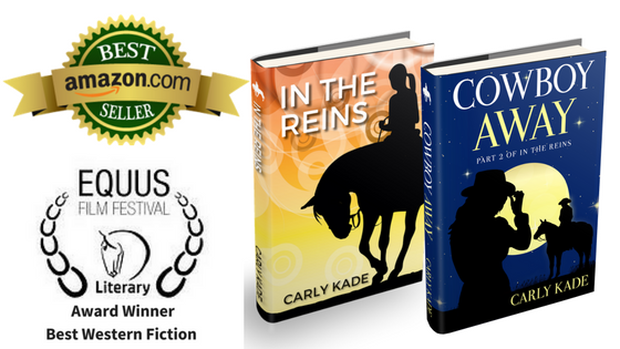 The In the Reins Horse Book Series by Carly Kade