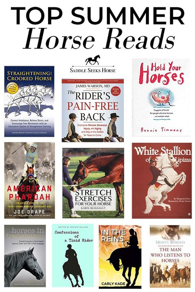 Horse Book Recommendations by Susan Friedland of Saddle Seeks Horse