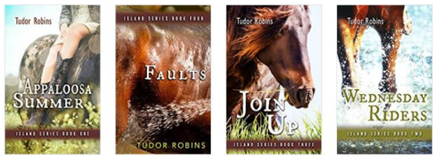 The Island Horse Book Series by Tudor Robins