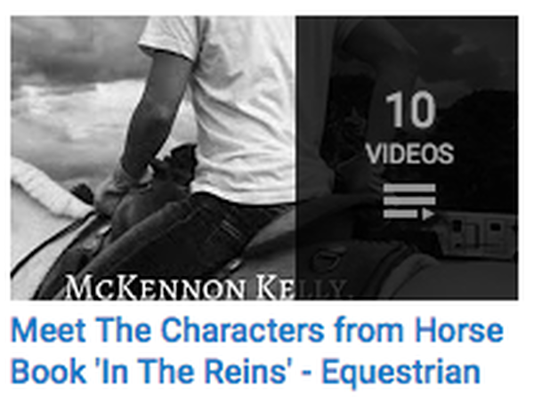 Meet the Characters from Equestrian Fiction Novel In the Reins