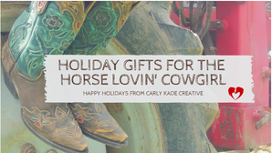 Western Gift Guide for Horse Lovers
