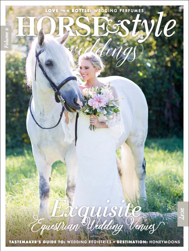 In the Reins Book featured in Horse & Style Weddings