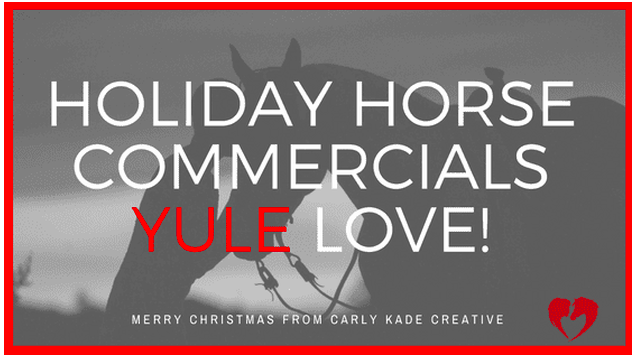 Watch Holiday Horse Commercials on YouTube