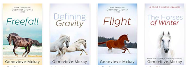 The Defining Gravity Horse Book Series by Genevieve Mckay