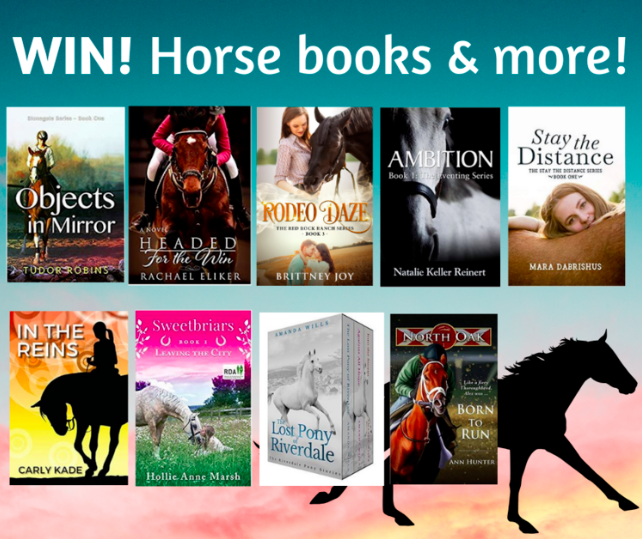 Horse Books by Carly Kade, Brittney Joy, Tudor Robins, Rachael Eliker, Natalie Kelly Reinert, Mara Dabrishus, Ann Hunter, Hollie Ann Marsh