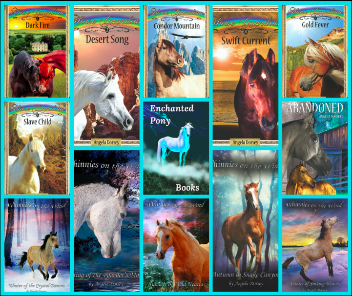 Horse Books by Angela Dorsey