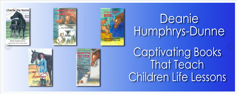 Horse Books for Children by Deanie Humphrys-Dunne