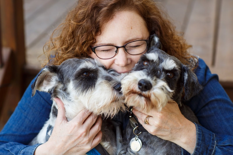 Equine Photographer Shelley Paulson and her Dogs