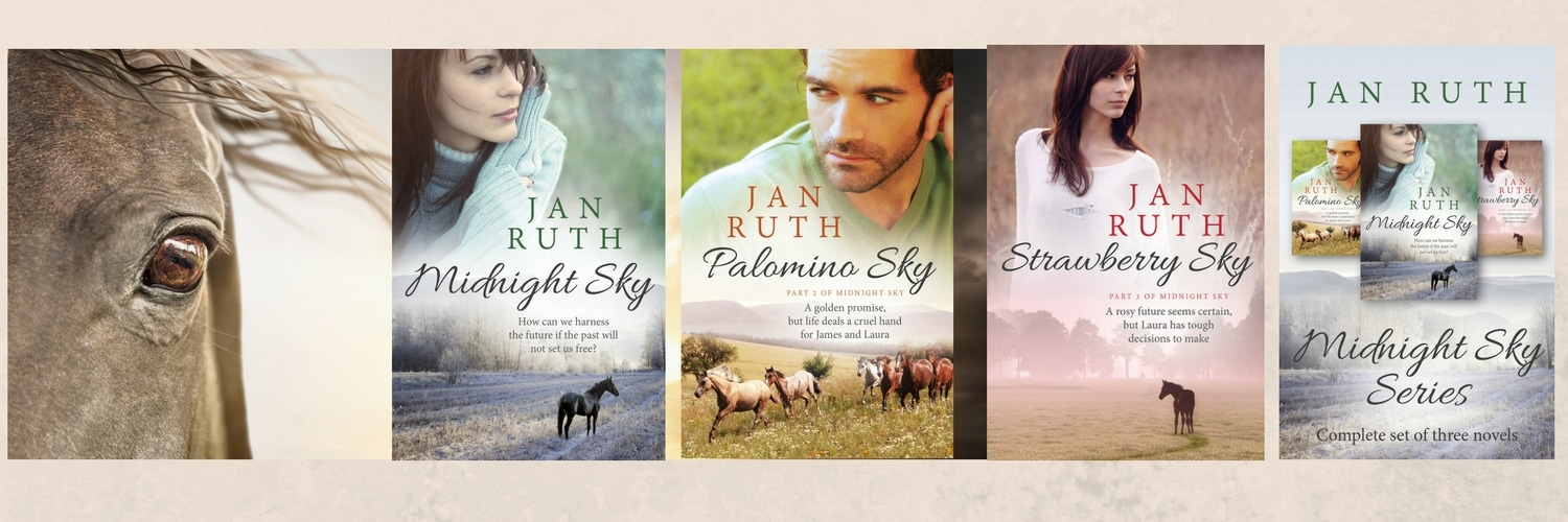 Horse Book Series for Adults by Jan Ruth